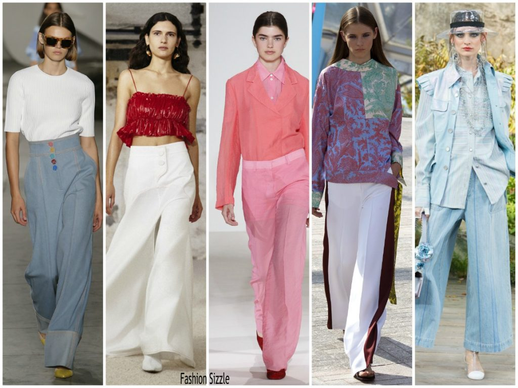 Spring 2018 Runway Fashion Trend Flared Pants Fashionsizzle