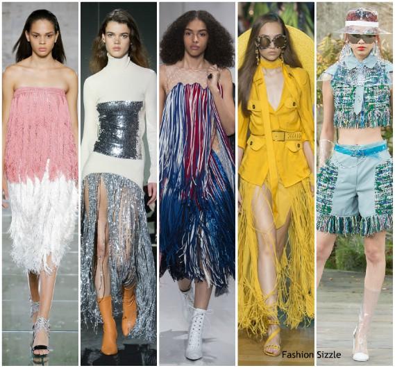 Fringe fashion trend 2018 dresses