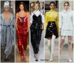 Spring 2018 Runway Fashion Trend –  Vinyl & Futuristic