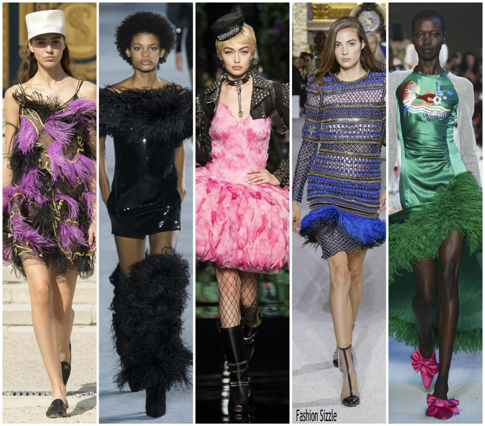 spring-2018-runway-fashion-trens-feathers