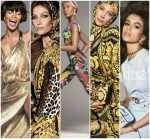 Supermodels In Versace Spring 2018  Campaign Shot  By   Steven Meisel