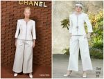 Tilda Swinton in Chanel @ Chanel Metiers d'Art Show in Hamburg