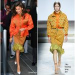 Zendaya Coleman In  Mary Katrantzou  – The Today Show' Departure