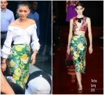 Zendaya Coleman in Rochas – Promoting 'The Greatest Showman'   In  Sydney