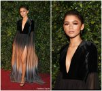 Zendaya In Elie Saab Couture – 2017 London Evening Standard Theatre Awards