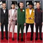2018 Grammy Awards Menswear Redcarpet
