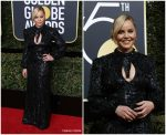 Abbie Cornish In Moschino – 2018 Golden Globe Awards