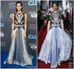 Allison Williams In Dolce & Gabbana – 2018 Critics' Choice Awards