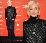 "Andrea Riseborough  In Tory Burch  @ ""The Death of Stalin""Sundance Film Festival Premiere"