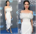 Angelina Jolie in Ralph & Russo @ 2018 Critics' Choice Awards