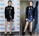 Anna Kendrick In Rasario  @  Hilton & American Express Launch Event