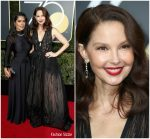 Ashley Judd  In Elie Saab   @ 2018 Golden Globe Awards