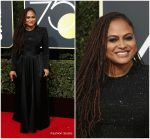 Ava DuVernay In Armani Privé @ 2018 Golden Globe Awards