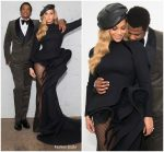 Beyonce In Azzi  & Osta  @ Clive  Davis Pre Grammy Party