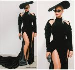 Beyonce Knowles  In Nicolas Jebran Couture  @  2018 Grammy Awards