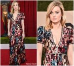 Brie Larson In Gucci  @ 2018 SAG Awards