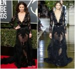 Catherine Zeta Jones In Zuhair Murad Couture – 2018 Golden Globe Awards