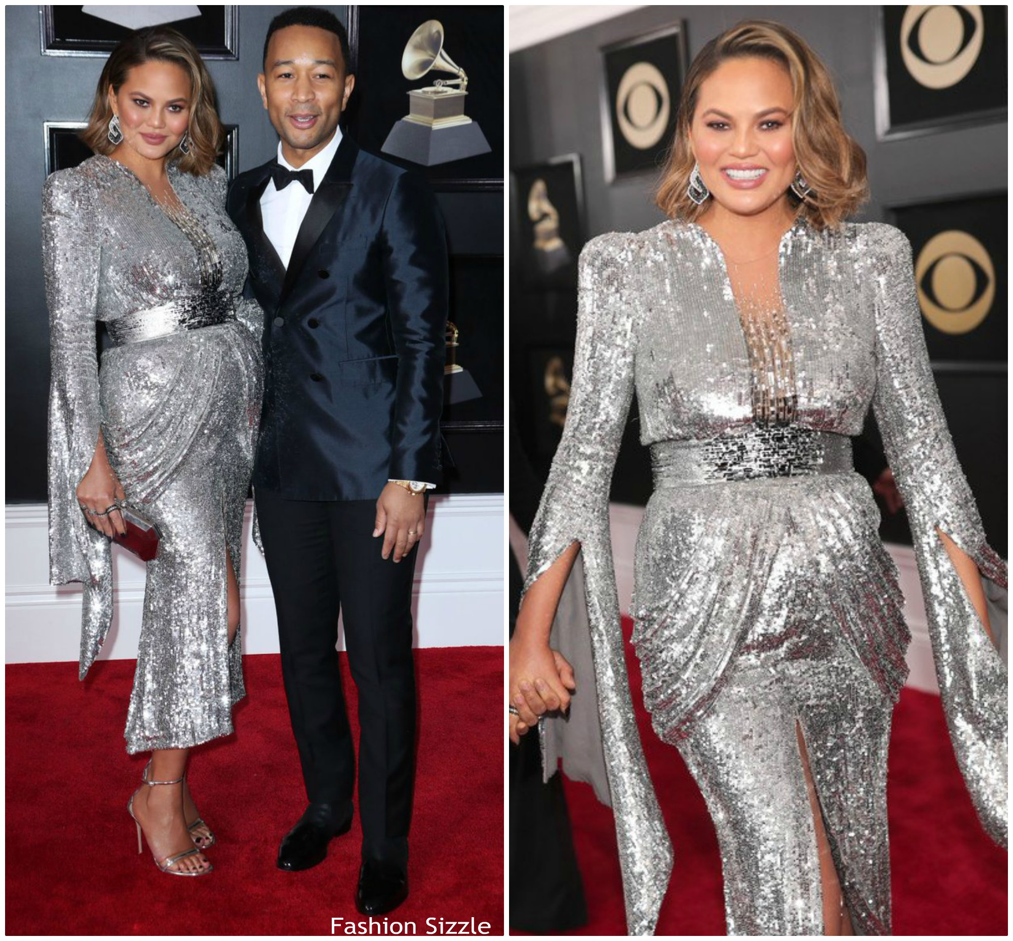 chrissy-teigen-in-yanina-couture-2018-grammy-awards