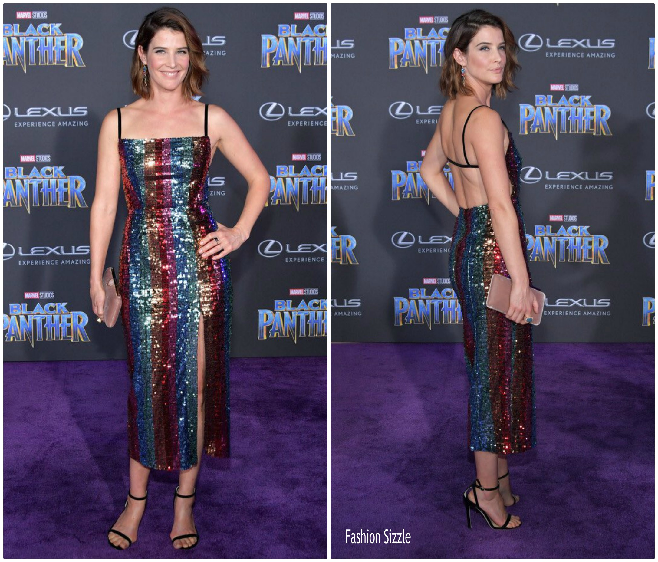 Last Night Was The Black Panther Premiere And It Was: Cobie Smulders In Markarian @ 'Black Panther' World