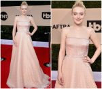 Dakota Fanning In Prada  @ 2018 SAG Awards