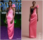 "Danai Gurira In Viktor and Rolf  @  ""Black Panther"" LA Premiere"