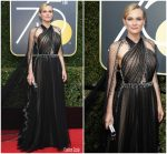 Diane Kruger In Prada  @ 2018 Golden Globe Awards