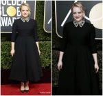 Elisabeth Moss In Christian Dior Couture – 2018 Golden Globe Awards