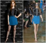 Ellie Bamber in Elie Saab @ Jaeger-LeCoultre Polaris 2018 Collection Introduction
