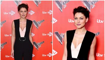 emma-willis-in-stella-mccartney-the-voice-uk-2018-launch-photocall