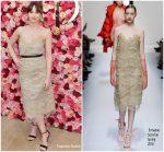 Felicity Jones In Ermanno Scervino – Cle de Peau Beaute Brand Relaunch