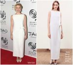 Greta Gerwig In Oscar de la Renta – 2017 New York Film Critics Awards