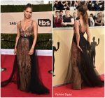 Halle Berry In Pamella Roland  @ 2018 SAG Awards
