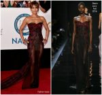 Halle Berry  In Reem Acra @  2018 NAACP Image Awards