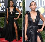 Issa Rae In Atelier Prabal Gurung – 2018 Golden Globe Awards