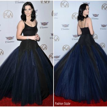 jaimie-alexander-in-christian-siriano-2018-producers-guild-awards