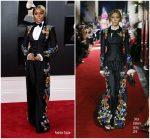 Janelle Monae  In Dolce & Gabbana   @ 2018 Grammy Awards