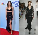 Jenna Dewan Tatum  In David Koma  @ World Of Dance