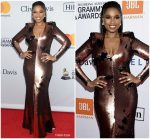 Jennifer Hudson In Rubin Singer  @  Grammy Salute To Industry Icons Honoring Jay-Z