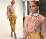 Jennifer Lopez In Gucci  @ World of Dance