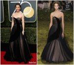 Jessica Biel  In Christian Dior  – 2018 Golden Globe Awards