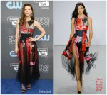 Jessica Biel  In Osca De La Renta  -2018 Critics' Choice Awards