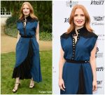 Jessica Chastain  In Givenchy @  Variety's Creative Impact Awards & 10 Directors To Watch In Palm Springs