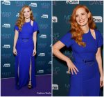 Jessica Chastain In Louis Vuitton @ Molly's Game Q & A