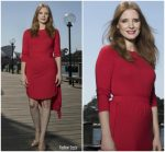 Jessica Chastain In Preen Line  @ 'Molly's Game' Sydney Photocall