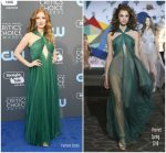 Jessica Chastain  In Vionnet – 2018 Critics' Choice Awards