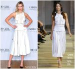 Karlie Kloss In Carolina Herrera  @ Carolina Herrera Fragrance Launch