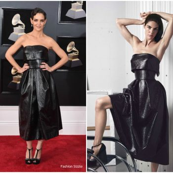 katie-holmes-in-zac-posen-2018-grammy-awards