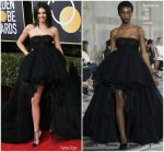 Kendall Jenner  In Giambattista Valli – 2018 Golden Globe Awards
