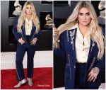 Kesha In Nudies Rodeo Tailors  @  2018 Grammy Awards