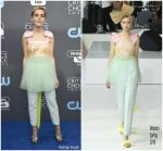 Kiernan Shipka In Delpozo – 2018 Critics' Choice Awards